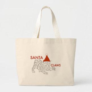 サンタの爪 ラージトートバッグ