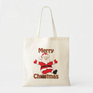 サンタの買い物袋 トートバッグ