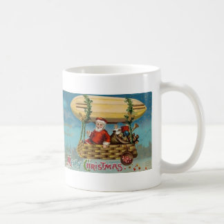 サンタの軟式小型飛行船 コーヒーマグカップ