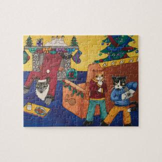 サンタの驚き ジグソーパズル