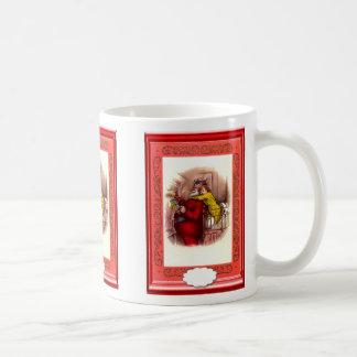 サンタのagets抱擁 コーヒーマグカップ