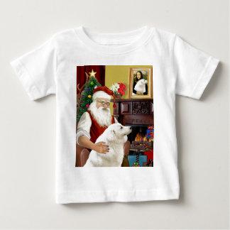 サンタのKuvasz ベビーTシャツ
