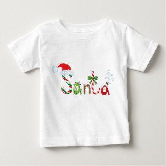 サンタのTシャツ ベビーTシャツ