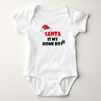 サンタは私の同郷人のクリスマスの装いです ベビーボディスーツ