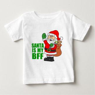サンタは私のBFFです ベビーTシャツ