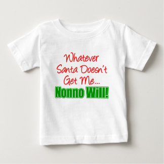 サンタはNonno ベビーTシャツ