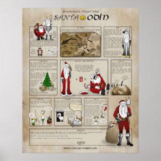 サンタはOdinです ポスター