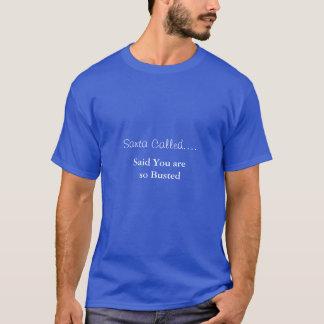 サンタはTシャツを呼びました Tシャツ