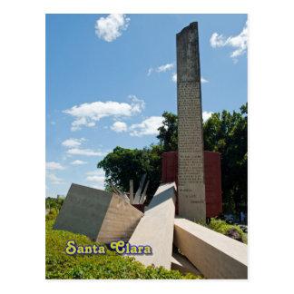 サンタクララ、キューバ- Che Guevaraの記念物の石 ポストカード