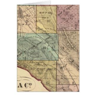 サンタクララCoの索引図 カード