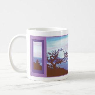サンタクルス、カリフォルニア コーヒーマグカップ