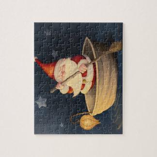 サンタクロースおよびクルミの貝 ジグソーパズル