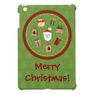 サンタクロースおよびプレゼント iPad MINI カバー