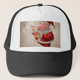 サンタクロースおよび泡石鹸 キャップ