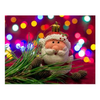 サンタクロースのおもちゃ ポストカード