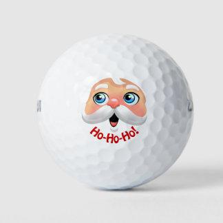 サンタクロースのかわいい漫画 ゴルフボール
