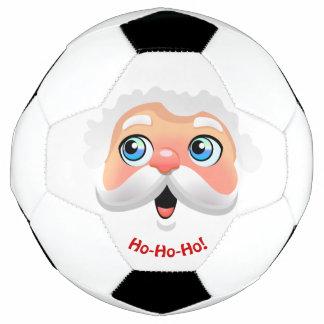 サンタクロースのかわいい漫画 サッカーボール