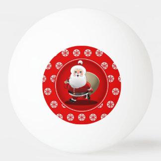 サンタクロースのかわいい漫画 卓球ボール