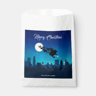 サンタクロースのそりのクリスマス-好意のバッグ フェイバーバッグ