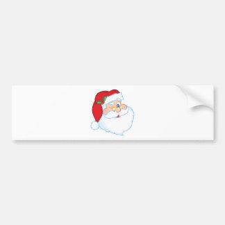 サンタクロースのまばたき バンパーステッカー
