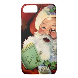 サンタクロースのやっとそこにiPhone 7の場合 iPhone 8/7ケース