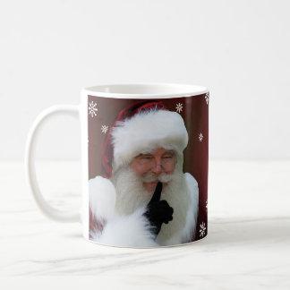 サンタクロースのクリスマスのマグ コーヒーマグカップ