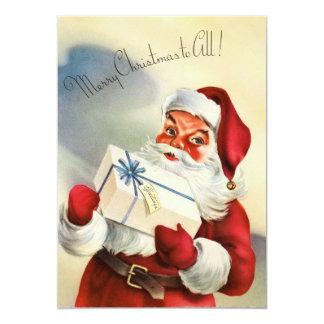 サンタクロースのクリスマスカード カード