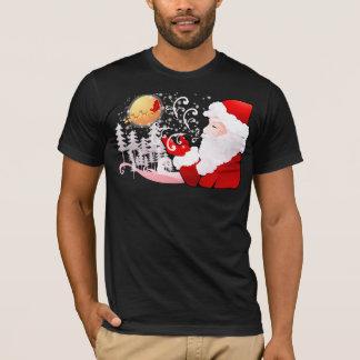サンタクロースのクリスマス Tシャツ