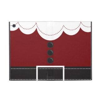 サンタクロースのスーツのクリスマスの休日のデザイン iPad MINI ケース