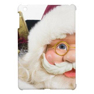 サンタクロースのポートレートはプレゼント直面し、 iPad MINIケース