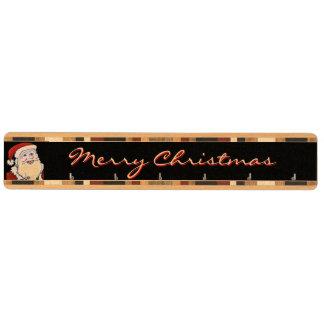 サンタクロースのメリークリスマスの鍵の棚 キーラック