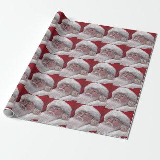 サンタクロースの芸術の包装紙 ラッピングペーパー