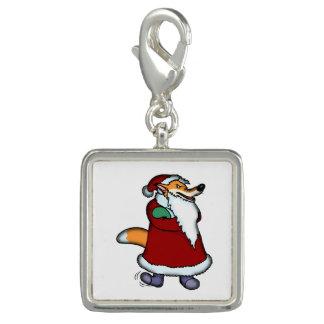 サンタクロースの衣類のオオカミ チャーム
