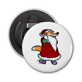 サンタクロースの衣類のオオカミ 栓抜き