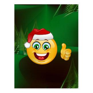 サンタクロースのemojis ポストカード