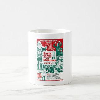 サンタクロースは火星人を征服します コーヒーマグカップ