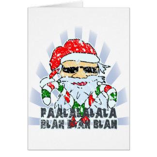 サンタクロース カード