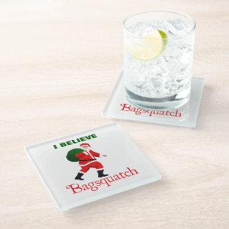 サンタクロース- Bagsquatch ガラスコースター