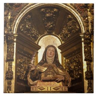 サンタテレサ2を表す宗教芸術 タイル