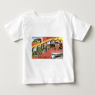 サンタフェ、ニューメキシコの記念品 ベビーTシャツ