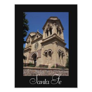 サンタフェSt. Francisのカテドラルの写真のプリント フォトプリント