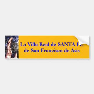 サンタフェSt. Francisのプレーリードッグの彫像… バンパーステッカー