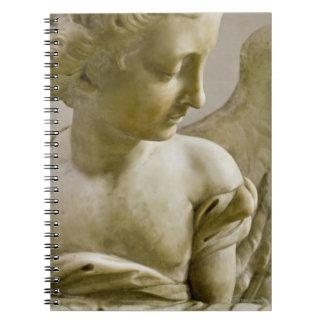 サンタマリアのdegli Angeliの天使のクローズアップ ノートブック