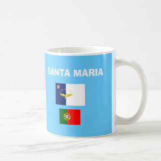 サンタマリア(アゾレス) SMA空港コードマグ コーヒーマグカップ
