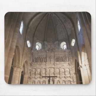サンタマリアDe Pobletの修道院のネーブ マウスパッド