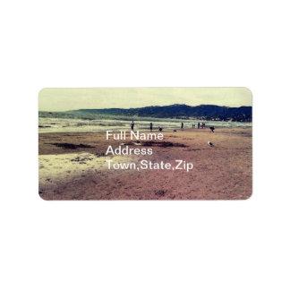 サンタモニカのビーチ ラベル