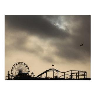 サンタモニカの日食 ポストカード