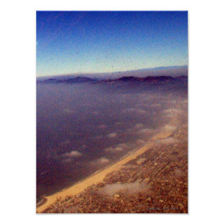 サンタモニカの海岸 ポスター
