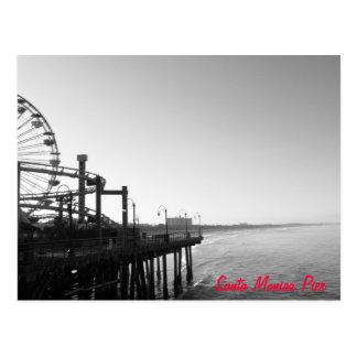 サンタモニカ桟橋の郵便はがき ポストカード