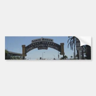サンタモニカ桟橋 バンパーステッカー